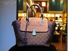 Louis Vuitton Exotique Monogram Majesteux PM W Tote Bag ($9250)