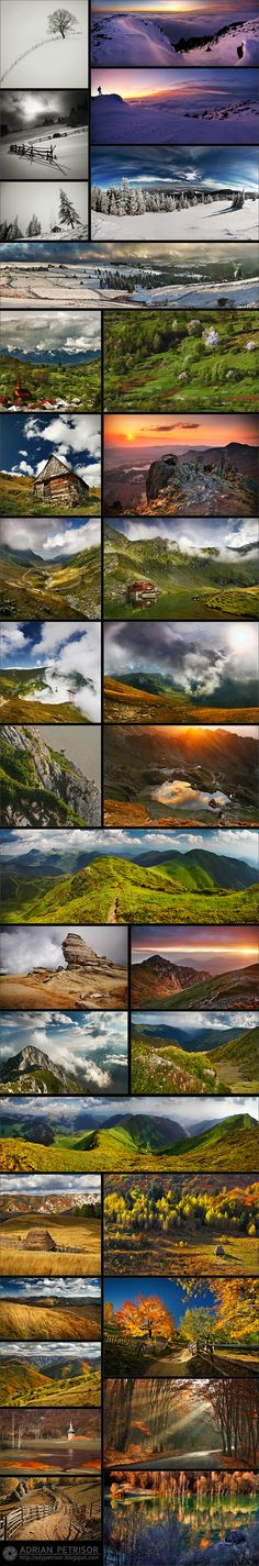 Romania's landscapes, by photographer Adrian Petrisor awsome,gorgeous beautiful Romania!