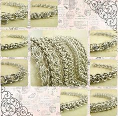 Craft FAIRE Kit -  EIGHT Different Bracelets -  DIY Chainmaille - Top Self Handmade Aluminum Jump Rings, via Etsy.