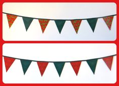 Christmas Bunting available now! Made up into 3m lengths. Contact me for more details at www.facebook.com/HeathersBunting or heathersbunting@gmail.com #bunting #Christmas