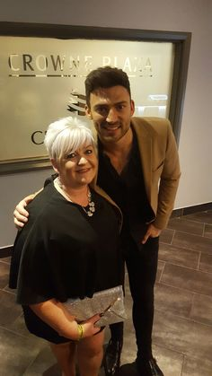 Jake Quickenden gives the best hugs