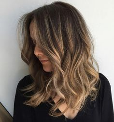 Golden brown balayage by Nicole