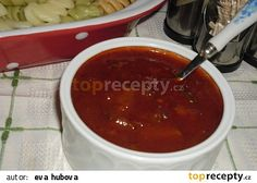 Cuketová omáčka na špagety recept - TopRecepty.cz Slovak Recipes, Czech Recipes, Pumpkin Squash, Home Canning, Pesto Sauce, Zucchini, Chili, Good Food, Food And Drink