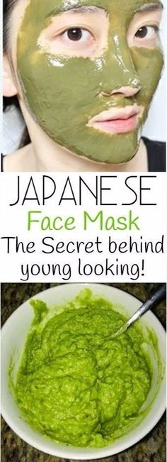 Japanese Face Mask: Do This Once A Week To Look 10 Years Younger ! - N-Tips