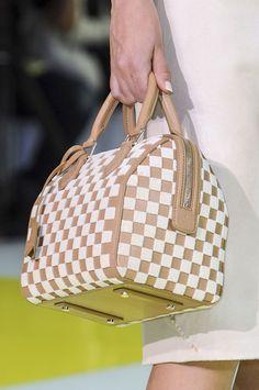 hand bag @ Louis Vuitton Spring 2013 #PFW Paris #Fashion Week