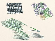 Basic Colored Pencil Shading: Colored Pencil Crosshatching