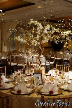 © Creative Focus Photography #Wedding #Reception #Decor