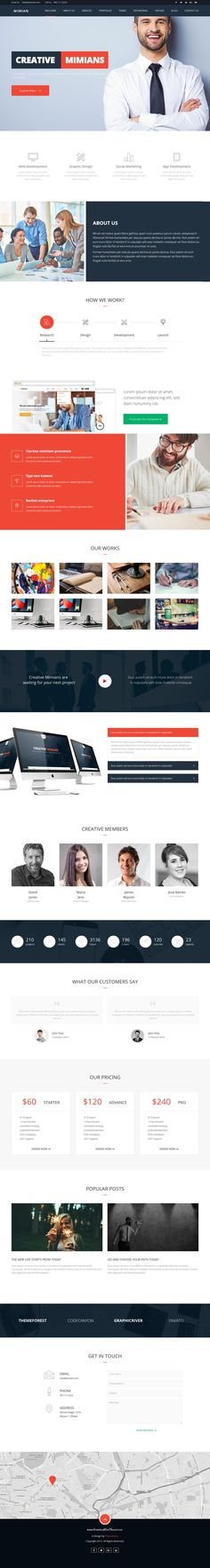 Mimian is a multi-purpose Bootstrap HTML template project that has carefully crafted by our top accomplished designers and front-end developers. The #template is a great choice for any kind of #business #websites.