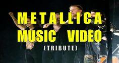 Metallica tributo homenaje por fan a la banda de música Metallica con video musical