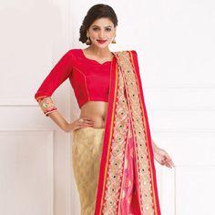 #Red #Banarasi #SilkSaree with Blouse