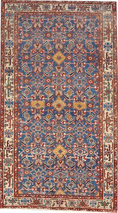 Heriz rug  size approximately 4ft. x 7ft. 1in.