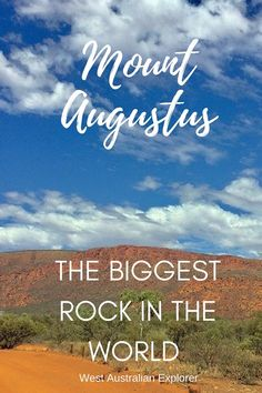A visit to Mount Augustus, Western Australia - the biggest rock in the world Outback Australia, Visit Australia, Western Australia, Australia Holidays, Travel Advice, Travel Guides, Travel Tips, Travel Destinations, Australia Travel Guide