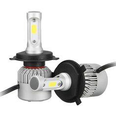 Pair 36W 8000LM COB LED Car Headlights Fog Lamps Bulbs H4 H7 H11 9005 9006 6500K White Sale - Banggood.com Motorcycle Accessories, Car Accessories, Car Headlight Bulbs, White P, Lamp Bulb, Led Headlights, Car Lights, Automobile, Lamps