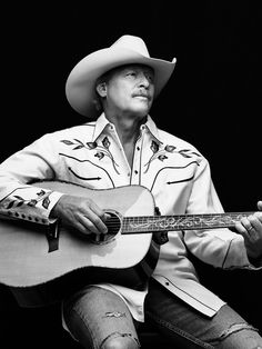 Honky Tonk Heavyweight Alan Jackson Talks How To Pull Off a Cowboy Hat and His Legacy in Country Music Honky Country Music Playlist, Country Music Stars, Country Musicians, Country Music Singers, Chapeau Cowboy, Cowboy Hats, Alan Jackson Albums, Allan Jackson, Randy Travis