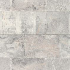 Non-Woven Wallpaper Grey White Tiles Home Style Rasch 461503 White Tiles, Home Fashion, Grey And White, Tile Floor, House Plans, Flooring, House Styles, Crafts, Walls
