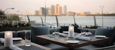 Outdoor dining in New York City during summer months is truly a sight to see, taste, and enjoy! Check out our favorite waterfront restaurants in Manhattan! Waterfront Restaurant, Restaurant Week, Restaurant Patio, Restaurant Design, Sidewalk Cafe, Outdoor Dining, Outdoor Decor, Outdoor Patios, Patio Dining