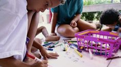Art therapy is a powerful tool for building problem-solving and communication skills. Here, find projects that encourage meaningful art-making at home — and learn how to work side-by-side with your child to enhance his strengths and address his challenges.