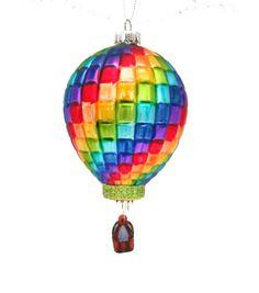 Maker's Holiday Hot Air Balloon Ornament