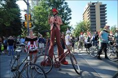 September 1--Tour de Fat--one of the world's largest bicycle parades!  Grab a costume and a bike to join the fun.