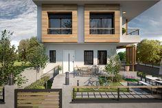 Villa Eylül #house #villa #architecture #modern #facade #wood