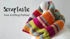 Free Cowl Knitting Pattern - Scraptastic