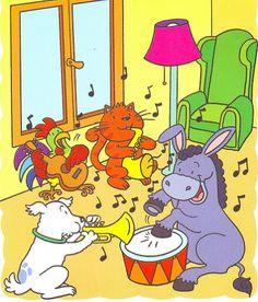 Cuento: Músicos de Bremen Lisa Simpson, Verses, Pikachu, Wonderland, 1, Album, Fictional Characters, Games, February