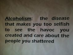 quotes about alcohol addiction - Google Search