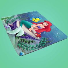 ariel the little mermaid mousepad rectangle seahorse mouse pad princess funny 02 #UnbrandedGeneric