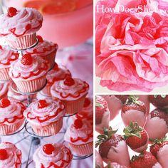 Pinkalicious Birthday Party Treats
