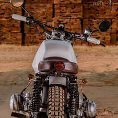 1979 BMW R45 CUSTOM by Louis Neil South Africa Garage