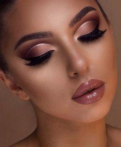 Hochzeits Make-up Hazel Eyes Braunes Haar Urban Decay 59 Super Ideas - Wedding Makeup Natural Glam Makeup Look, Makeup Eye Looks, Cute Makeup, Gorgeous Makeup, Simple Makeup, Beauty Makeup, Fox Makeup, Alien Makeup, Dead Makeup
