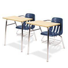 Virco 9400BR51385 Classic Series Chair Desks #9400BR51385 #Virco #TAADesks  https://www.officecrave.com/virco-9400br51385.html