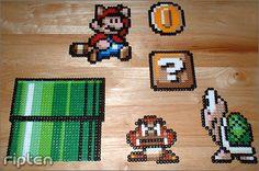 pixel art super mario bros