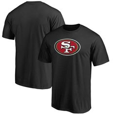 San Francisco 49ers NFL Pro Line Big & Tall Primary Logo T-Shirt - Black