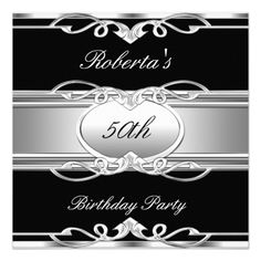 Elegant gold black 50th birthday surprise party in invitation cute elegant gold black 50th birthday surprise party in invitation cute ideas pinterest birthdays 50 birthday parties and party invitations stopboris Gallery