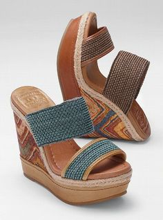 Lucky Brand wedges. So cute.