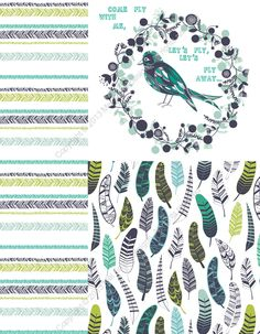 Mel Smith Designs: let's fly blog hop!
