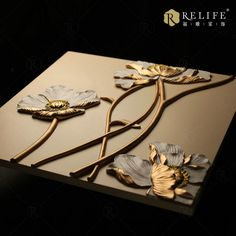 Relife-Hot Sale, Relife-Hot Sale direct from Shanghai Relife Furnishings Co. in China (Mainland) Clay Wall Art, Ceramic Wall Art, Clay Art, Plaster Crafts, Plaster Art, Mural Painting, Mural Art, Paintings, Texture Art
