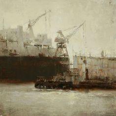 San Francisco paintings by Hsin Yao Tseng
