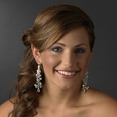 Love these earrings for quinceanera or wedding! specialoccasionsforless.com