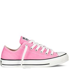 Every girl needs a pair of Converse trainers whether it be the classic All Star High Top or Oxford version.  There is a wide selection of colours available but most girls can't resist the colour pink!