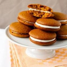 Pumpkin Whoopie Pies. These are the best and bring back so many memories of Fall time with the family.