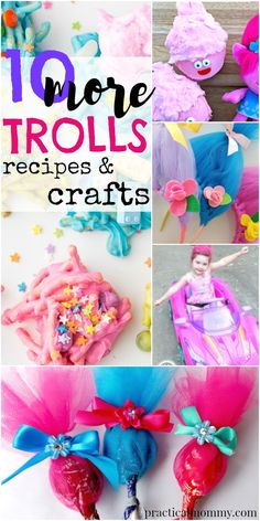 More Trolls recipes and crafts