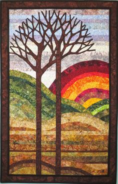 Quilts For Sale, Contemporary Landscape, Collaboration, Best Gifts, Display, Sunset, Pets, Board, Wall