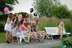 Outdoor session at the bachelorette party, Gdynia Orłowo, Poland