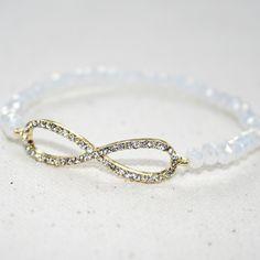 $14 Shimmering Infinity Bracelet