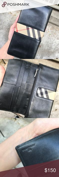 Authentic Burberry Wallet In very good shape. Burberry Bags Wallets