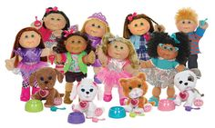 These dolls are available in a matrix of different Kids, as well as fashion themes such as Preppy Girl, Rocker Girl, and more. Each doll can interact with the Adoptimal Pets, which have light-up heart… read more