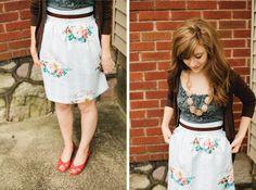 a joyful journal: a perfect skirt by Bennair