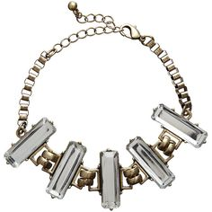 Glam Grunge Bracelet via Polyvore $39.95 from Witchery #gold #necklaces